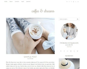 WordPress Theme, WordPress Template, WordPress Blog, WordPress Responsive, WordPress Themes, Feminine WordPress Theme, Fun Blog Premade Blog