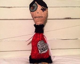 Handmade art doll ( Hellga )