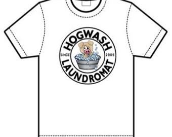 The Original Hogwash Laundromat T-Shirt