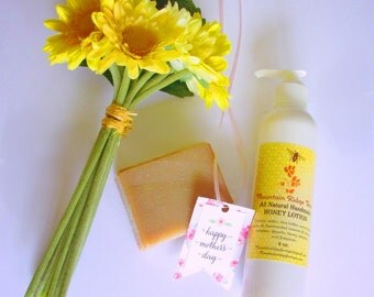 Luxury in a Bag / Honey Soap + Body Lotion