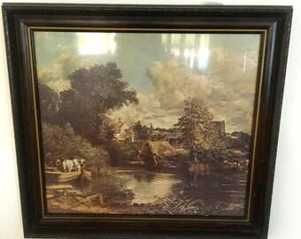 SALE *** Vintage Print John Constable White Horse