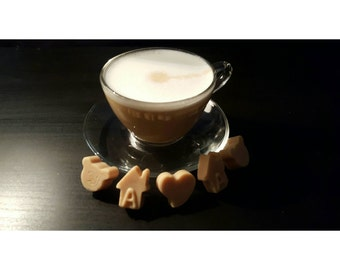 Pack of 4 Caramel Coffee Natural Soy Wax Melts