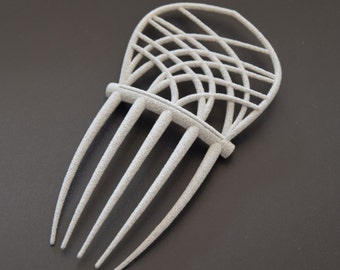 Art Deco/ Art nouveau inspired hair comb