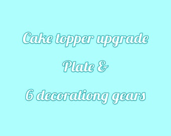 Upgrade -Plate & Decoration Gears for Myra