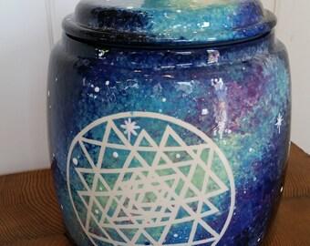 XL Galaxy Cookie Jar