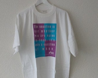 Vintage Untouched Asics Running T-Shirt
