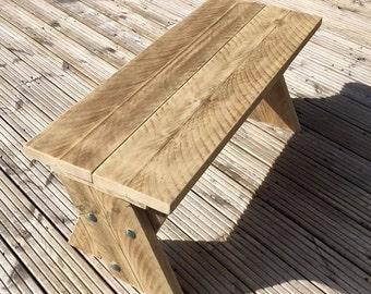 Medium Rustic Garden Bench
