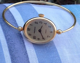 Bracelet ANGUENOT watch vintage 60s ladies