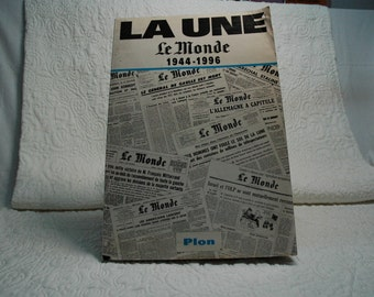 Collection of some of the newspaper the world from 1944 to 1996