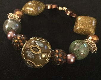 Beautiful Earth tone bracelet