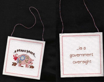 Government Oversight Hanging Dodad