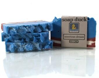 American Dream Handmade Soap // Bar // Natural // Gift