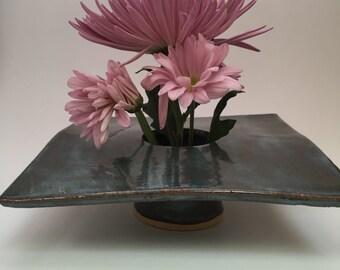 Pottery flower vase