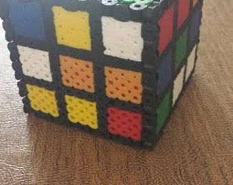Perler Rubik's Cube