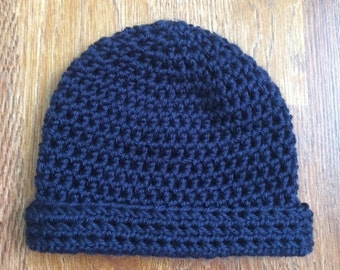 Simple Crochet Baby Beanie