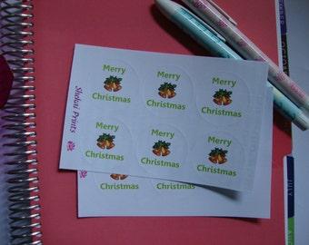 Christmas Round Seals