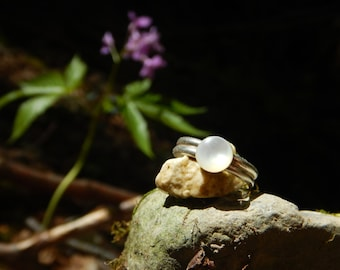 Ring Pearl & 925 Silver