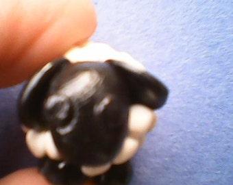 Polymer Clay Sheep Figurine