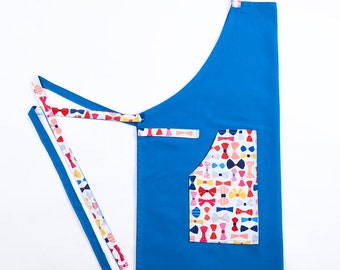 Apron blue white Cook - the Dandy