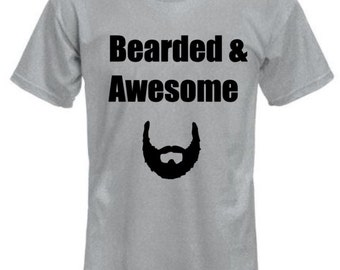 Bearded & Awesome shirt