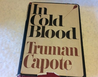 In Cold Blood Truman Capote very good 1965. Book Club Ed. Free ship