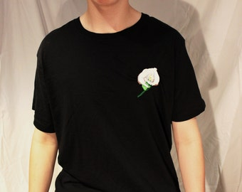 Calla Lily T-Shirt - Embroidered