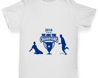 Girl's LCFC 2016 We Are The Champions T-Shirt