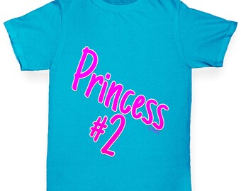 Girl's Princess Number 2 T-Shirt