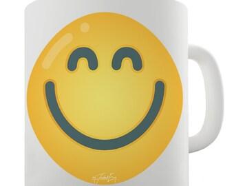 Big Smile Emoji Ceramic Mug