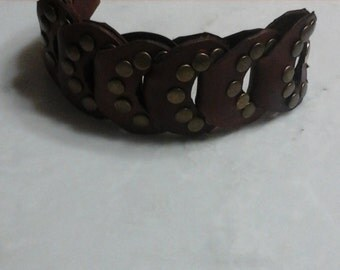 Custom leather band great for any teen