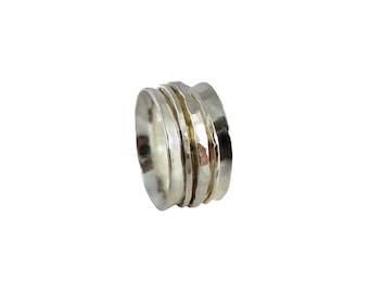 Sterling Silver Spinning Ring