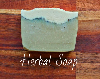 SOAP - Herbal Soap - Natural soap, Organic soap, Vegan soap, Jewish soap, Artisan soap, Handmade soap