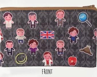 Sherlock Holmes Pencil Case pouch