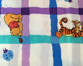 Disney, Winnie the Pooh flat sheet, twin sizes