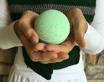 Hogwarts House Slytherin Bath Bomb