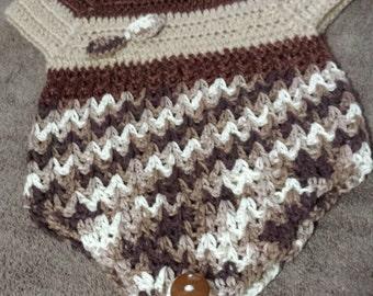 hand crochet item   6/9 MONTH