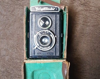 Voigtlander Camera and Leather Case
