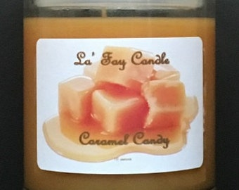 Caramel Candy Candle