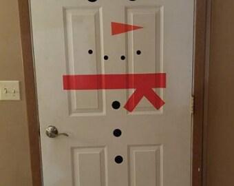 Door Snowman Vinyl