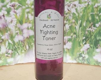 Acne Fighting Toner 4 oz