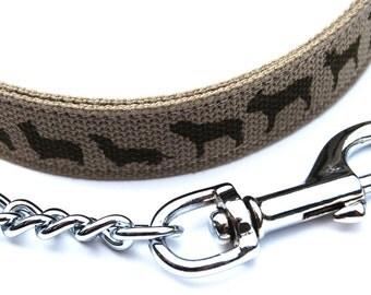 Hand Printed Chain Lead