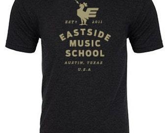 Eastside Music School Men's Charcoal TShirt