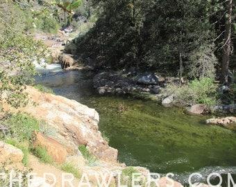 Three Rivers Sequoia National Park Art Photo Print