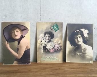 French Fantasy Postcards - Set of 3