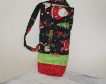 Christmas bottle bag
