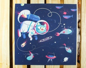 The Adventures of Space Cat