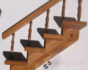 Vintage Knick Knack Stand that is a Set of Stairs, Just like your Real Stairs at Home, No to Common, Fun, Great for Displays, Stands Out