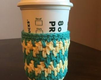 Crochet cup cozy, cup cozy