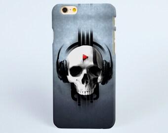 iPhone 7 plus Case, Skull Music iPhone 7 Case, iPhone 6 Case, iPhone 6s Case, iPhone 6 plus case, iPhone 6s plus case, iPhone tough case