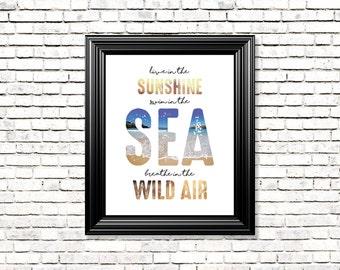 Sea Air print
